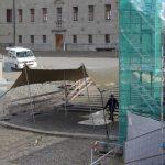 Wetterschutz für Baustelle bis 2022