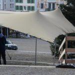 Gestaltungsvorschlag, Wetterschutz für Messfeiern