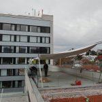 Montage Sonnensegel Spital Linth, Uznach