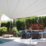 Sonnenschutzsegel für Oase der Geborgenheit