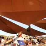 Sonnenschutz für Rooftop Crew