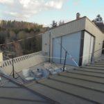 Sonnensegel für Dachterrasse