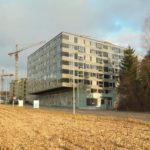 Dachterrassenbeschattung Wohn- und Geschäftshaus